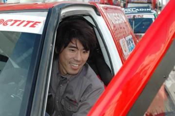 日産時代の古い写真しかないっ・・・三橋淳選手はこんなヒトです。