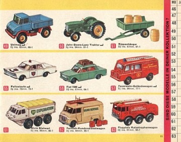 1966年のカタログで50番と51番です。