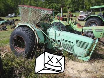 DEUTZ トラクターの廃車