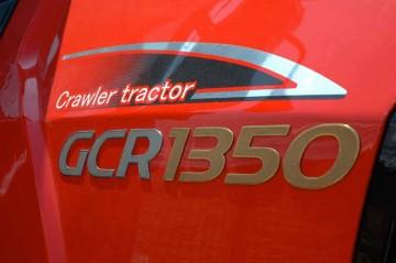 三菱トラクタ ゴムクローラ GCRシリーズ GCR1350 ロゴ