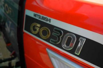 三菱トラクタ GOシリーズ GO301 ロゴ
