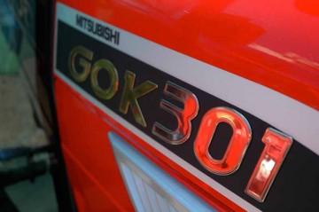三菱トラクタ ハーフクローラGOKシリーズ GOK301 ロゴ