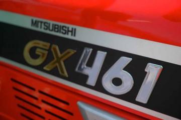 三菱トラクタ GXシリーズ GX461 ロゴ