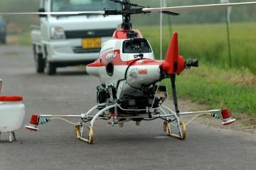 ヤンマー産業用無人ヘリコプターAYH-3 後ろ姿がいちばんセクシーかな?