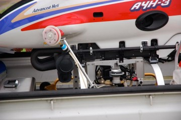 ヤンマー産業用無人アドバンスヘリコプター AYH-3