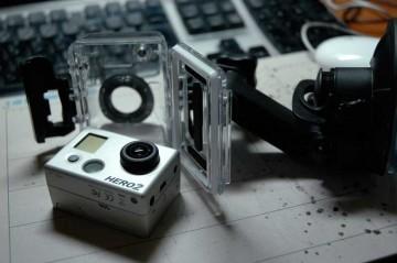 買ってしまった! GoPro(ゴープロ) HD HERO2 Moter Sports Edition 小さいなあ