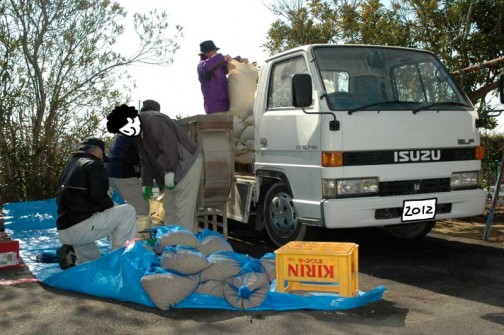 常澄産コシヒカリ/飼料稲の生産のようす 水戸市大場町島地区生産組合