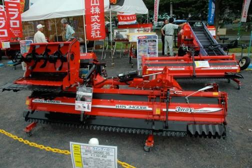 2年前、2010年はこちらが展示されていました。WRS-3400BE-0S ¥1,101,450 製品が進化して値段もちょっぴり上がったのかな?