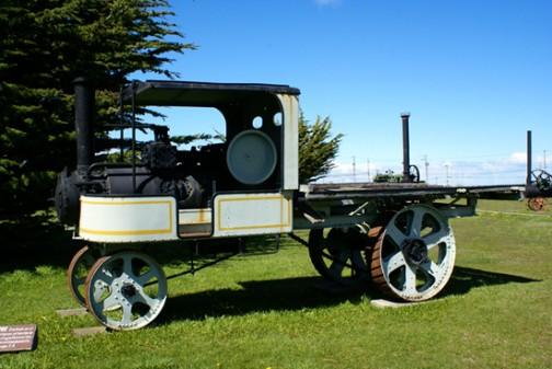 蒸気トラック 同じく昨日のサイトにあった晴れたときの写真