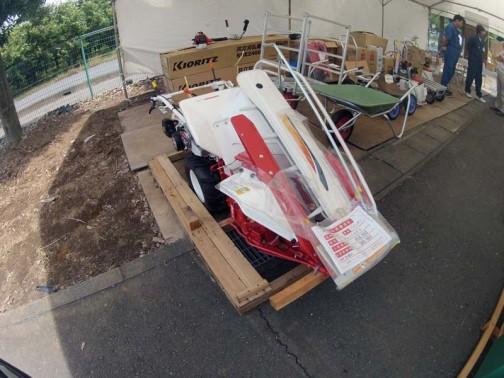 ヤンマーバインダー Be35AES 小売価格¥454650 お買い得価格¥380000 安くなった理由は型遅れだからだそうです