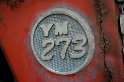 勝手に名付けたヤンマートラクター第三世代YM○73シリーズのYM273(23馬力)