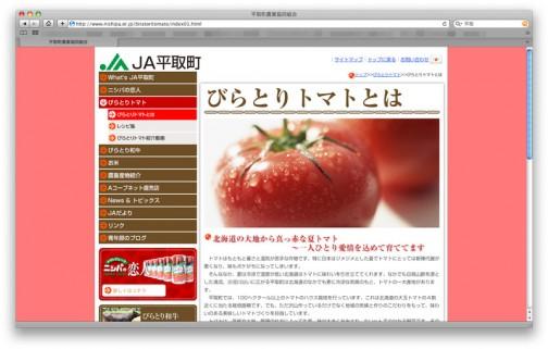 平取町のWEBページに書いてありました!