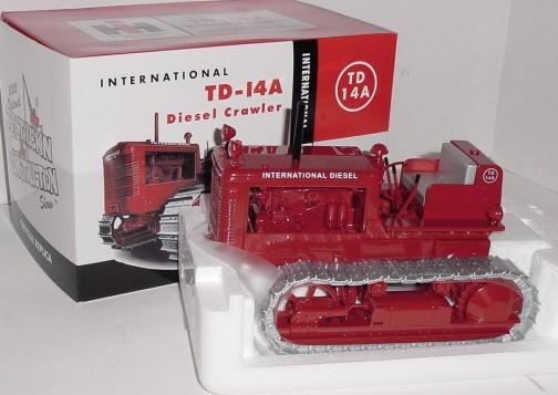 TD14のダイキャスト模型 ちゃんとありますねえ