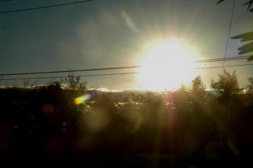 気がついた時には今年の一番初めの太陽が高く上がっていた。