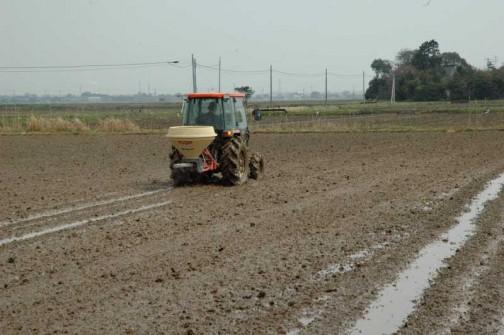 これはこれなりに利点があるはずですが、うしろに付けちゃうので耕しながら肥料はあげられませんね