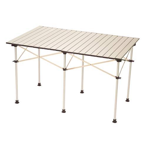 折り畳みテーブル アルミ製で軽量コンパクトに収納可能 運動会のためにこれ、買ってしまいました