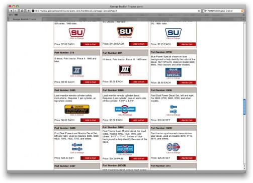 このWEBサイトでステッカーを売ってます。というより、ありとあらゆる古いステッカーを復刻してます。ニーズがあるんでしょうね。やるなあ。