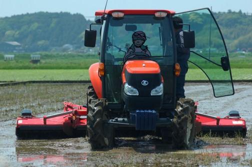 KUBOTA half crawler tractor KL5150+NIPLO WRS3810N