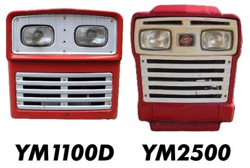 そう言えばヤンマーYMシリーズも小さいほどベビーフェイス。