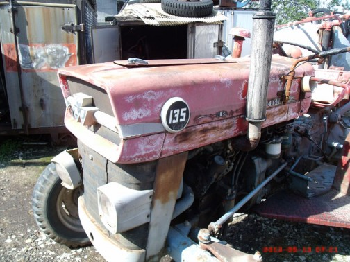 MF135 Instruction tractor