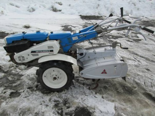 MS700 mitsubishi hand tractor