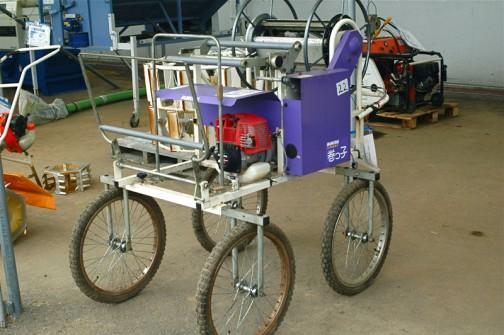 みのる産業 マルチ回収機 W-1A