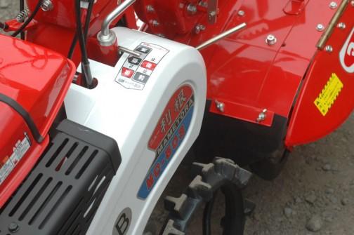 昭和のかほり ニュー利根! マメトラ管理機MC-503B R45W 6.3馬力 正逆転ロータリーサイドクラッチ付で価格は¥3,5,250なり