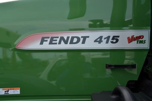 FENDT 415 型番のあとに付くニックネームというかミドルネーム?は、変速システムの名前みたいです。