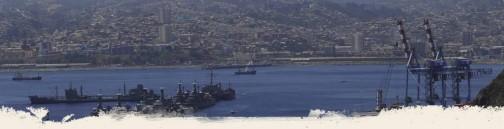 ダカールのWEBページの画像。軍艦があるなあ。でかい町。