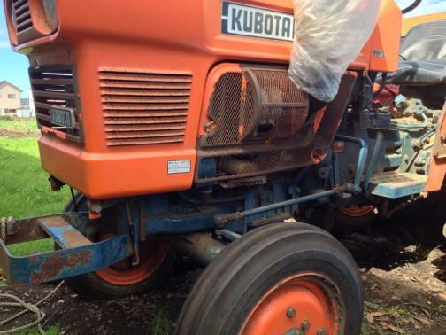 クボタL1501 二輪駆動です。