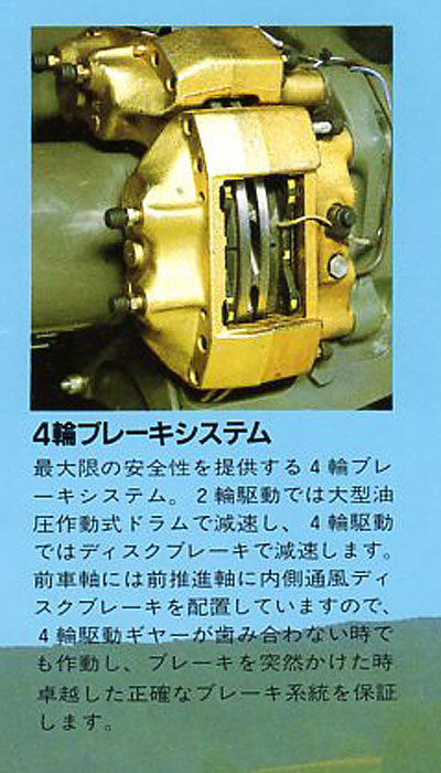 四輪ブレーキシステム
