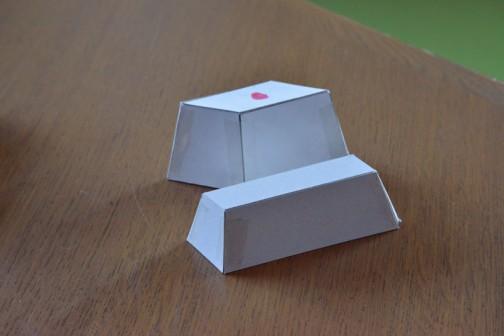 やっと合格品が・・・この形ならなんとか作れそうです。