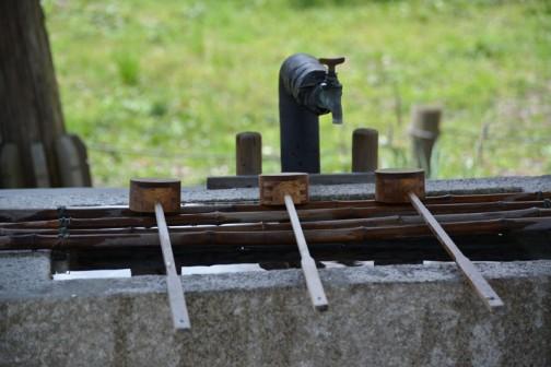 弘道館の手水