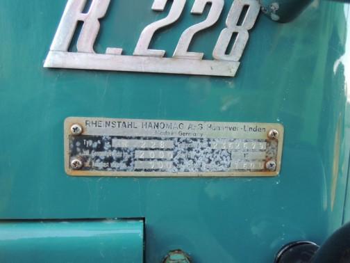 ラインシュタール・ハノマーグ コンビトラックR.228 Rheinstahl Hanomag combitrac c228
