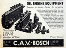 CAV-BOSCH社