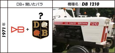 デビッド・ブラウントラクター1210 過渡期仕様