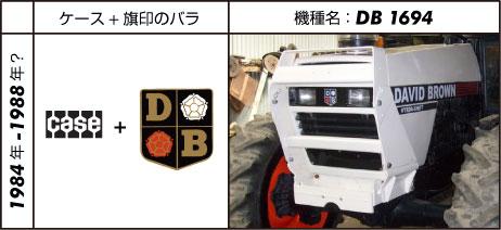 デビッド・ブラウントラクター1694 1983 108 hp (turbo)