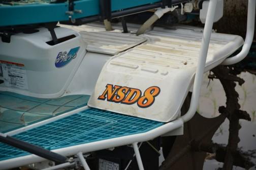 クボタ8状植えディーゼル田植機 NSD8 kubota 8lines deasel transplanter NSD8