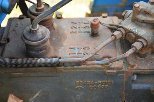 MITSUBISHI tractor D2650FD 三菱トラクターD2650FD 形式名MT2600D