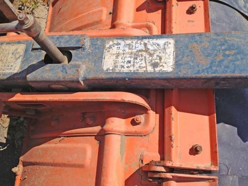 KUBOTA TRACTOR B6000 クボタトラクターB6000 一説によれば600cc2気筒ディーゼルエンジン11馬力 1973年から1977年まで生産されたそうです