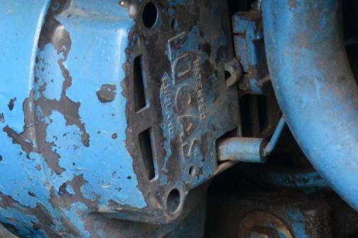 FORD tractor 6610 フォードトラクター6610 1982年から1993まで作られ、これはイングリッシュフォードでたぶん1986年製。一説によれば82馬力4.4リッター4気筒ディーゼル。