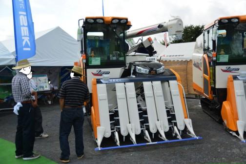 123馬力のコンバイン。イセキコンバインジャパン ISEKI COMBINE HJ6123GZCAPLW 水冷4サイクル4気筒ディーゼルインタークーラーターボエンジン 2999cc 123馬力 価格¥16,308,000