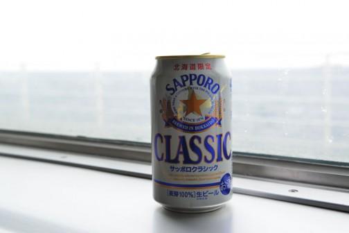 北海道に来たらやっぱりサッポロクラッシック(写真は本文と関係ありません)