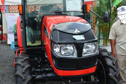 mitsubishi ASUMA tractor GAK50XUV 価格¥6,513,480 こちらも黒顔タイプ。