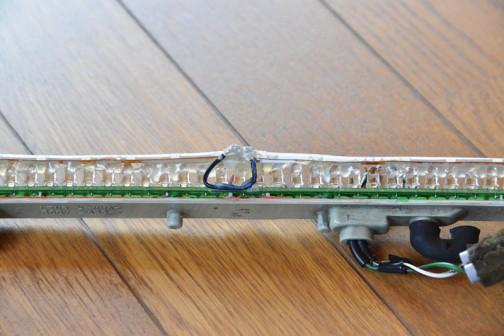 「ランクル70」LEDストップランプの修理