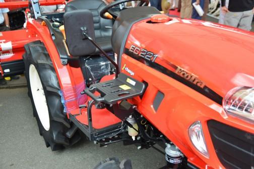 YANMAR EcoTra (EG200シリーズ) EG221VXUKS4M 価格¥2,462,400 燃料タンク置きはこの位置!