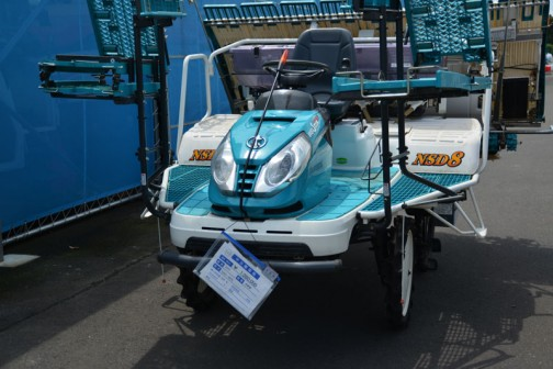 クボタはこの一台だけ クボタ田植機 NSD-8FR 購入初年度H20年 中古価格¥1,080,000