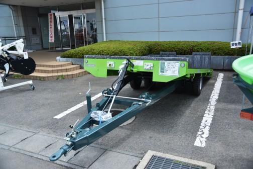STAR 汎用トレーラ TMT3521 価格¥786,240   適応トラクター馬力:35〜80ps 最大搭載量:3500kg 荷台幅:180cm 荷台長:370cm