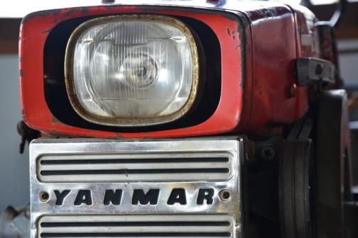 突然ですが、ヤンマー耕耘用トラクタYM160型です。1965年(昭和40年)
