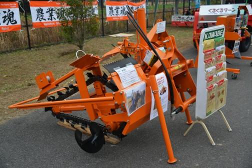 カワベ kawabe TT-4102FR-2-P(簡易暗渠仕様) トラクタ用トレンチャー 価格¥1,396,440 深さ×幅 0.8m×15cm 適応馬力 26〜50PS